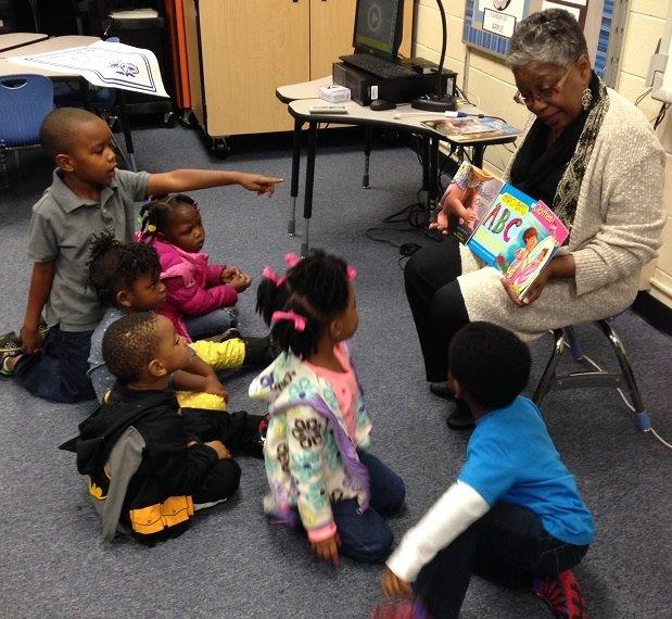 Pre-School visit with CWH_Little Rock 2014