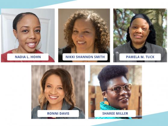 Set four of Amplify Black Stories Storytellers headshots